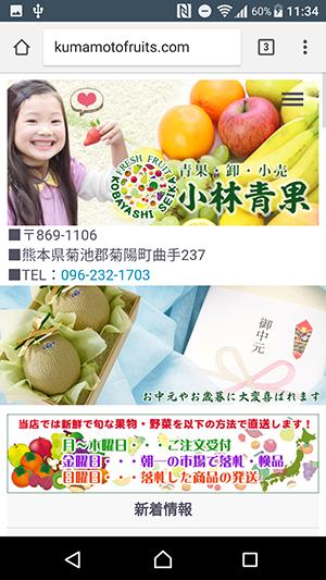 果物と野菜の市場直送【小林青果】